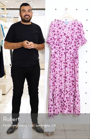 Moroccan Tile Ruffle Dress, sales video thumbnail