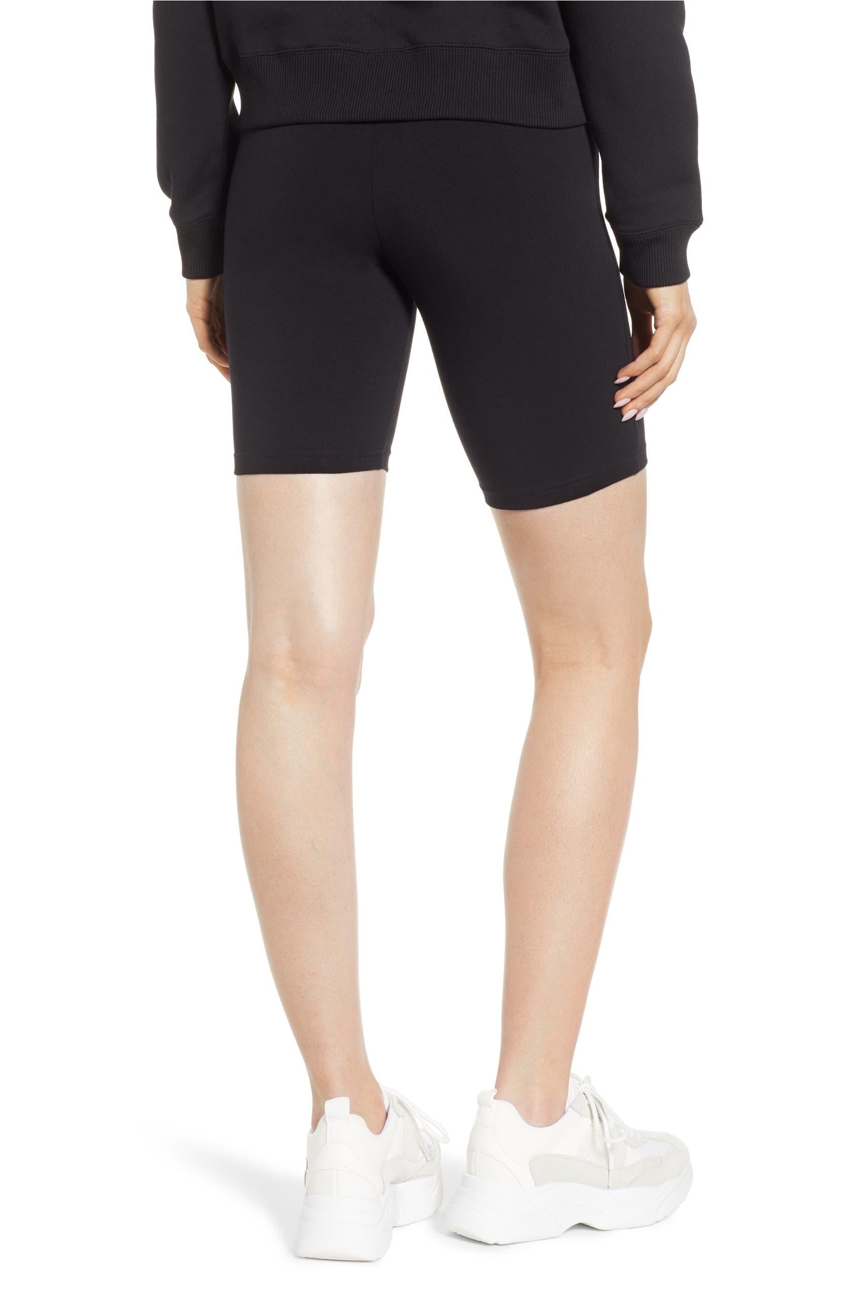 0fcb430c02 Hue High Waist Cotton Blend Bike Shorts | Nordstrom