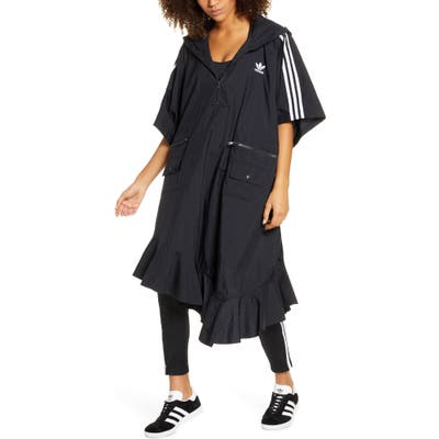 Adidas Originals Hooded Asymmetrical Poncho