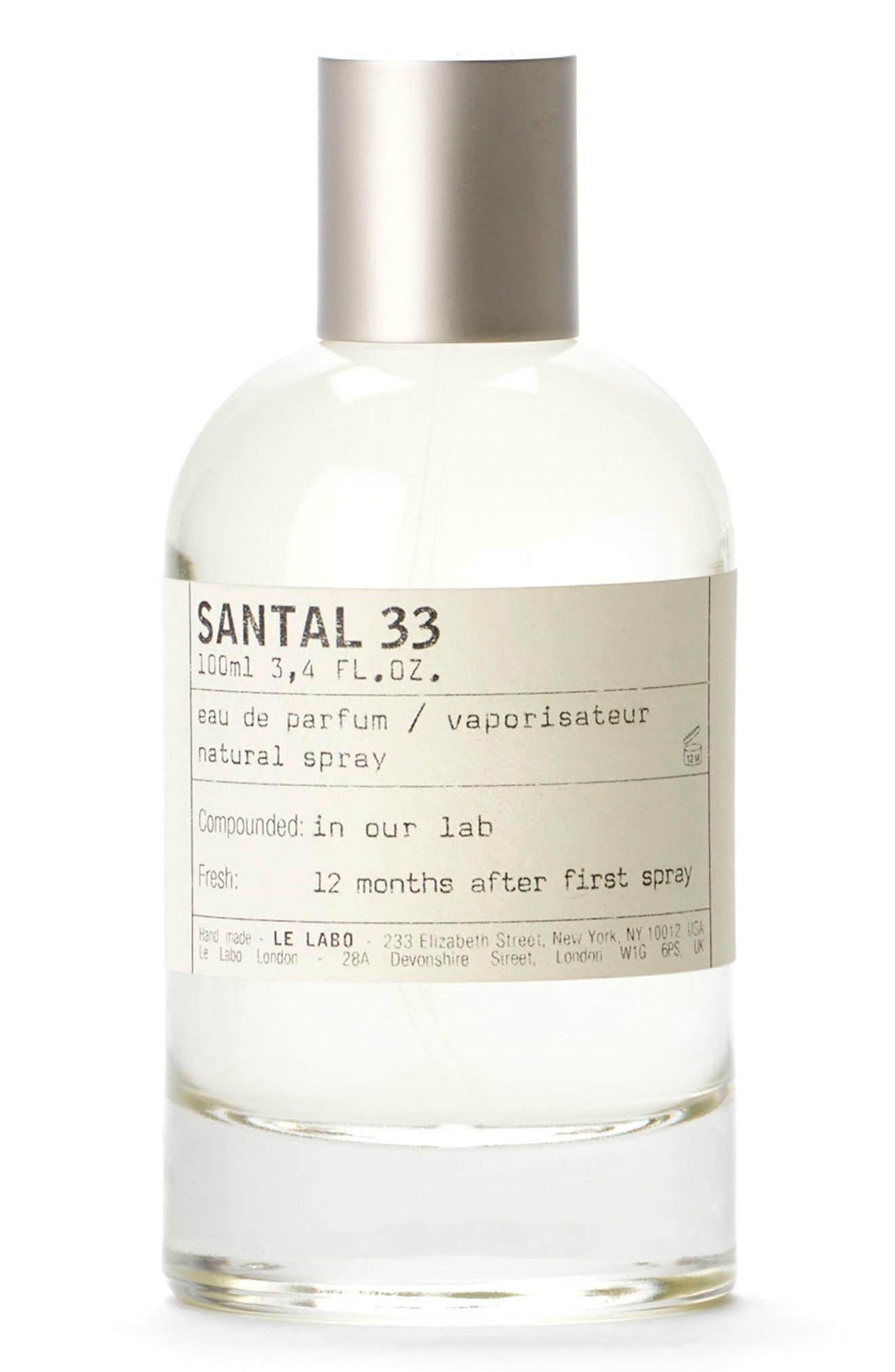 Santal 33 Eau de Parfum, Main, color, NO COLOR
