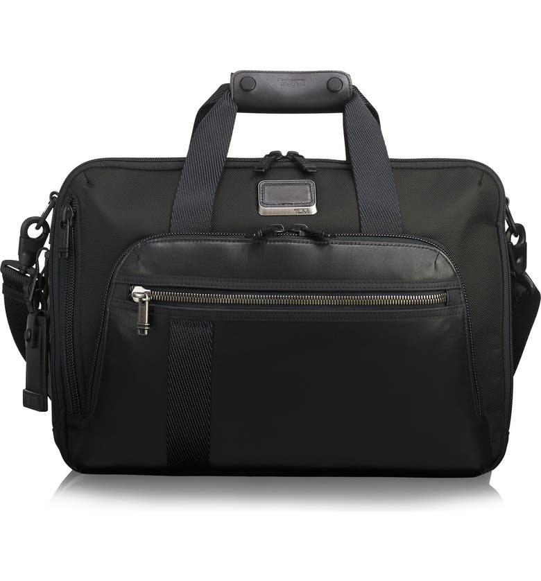 TUMI Alpha Bravo Mountain Convertible 3-Way Briefcase, Main, color, 001