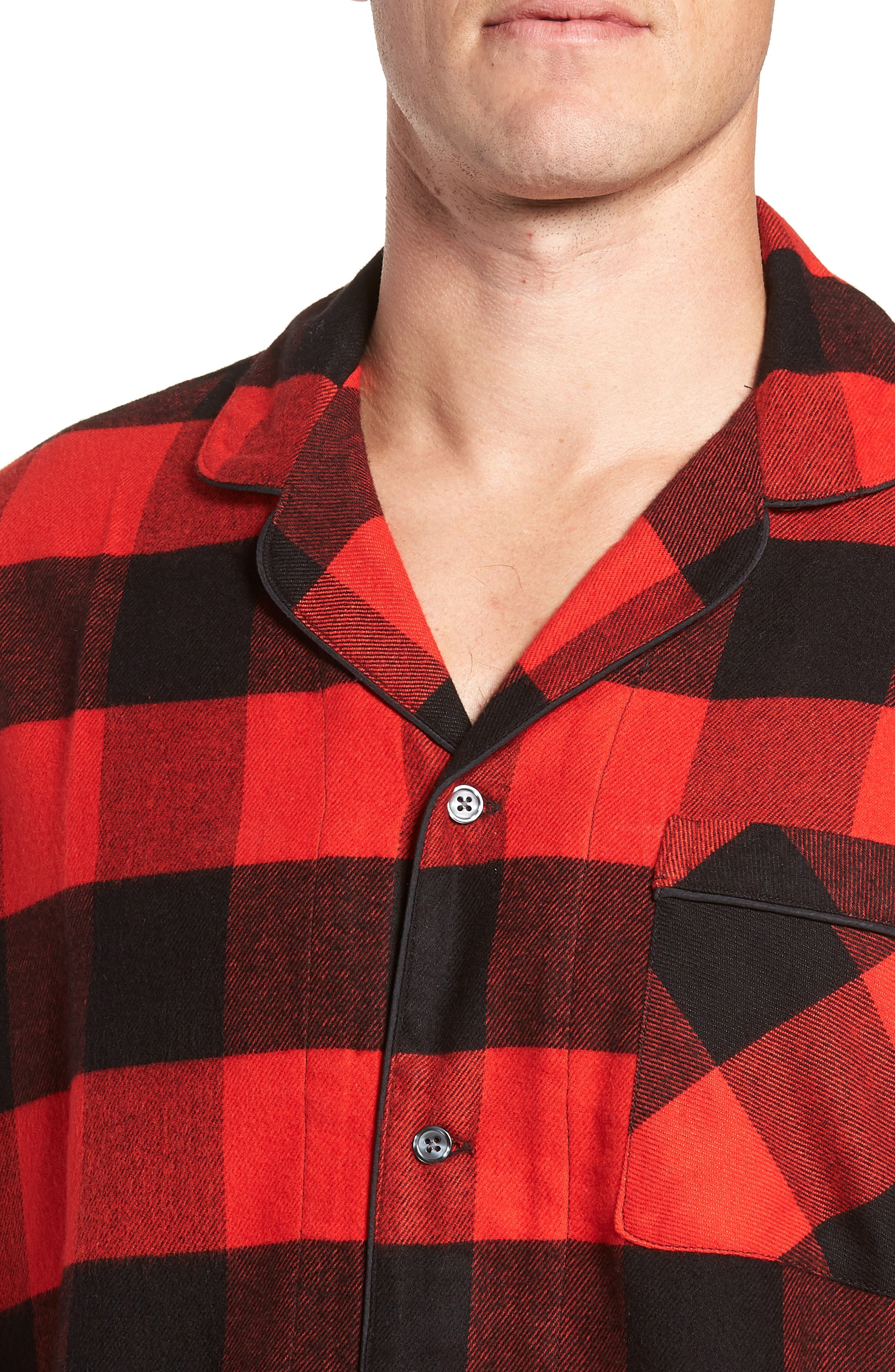 ,                             Family Father Flannel Pajamas,                             Alternate thumbnail 10, color,                             610