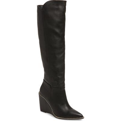 Cecelia New York Riely Knee High Boot, Black