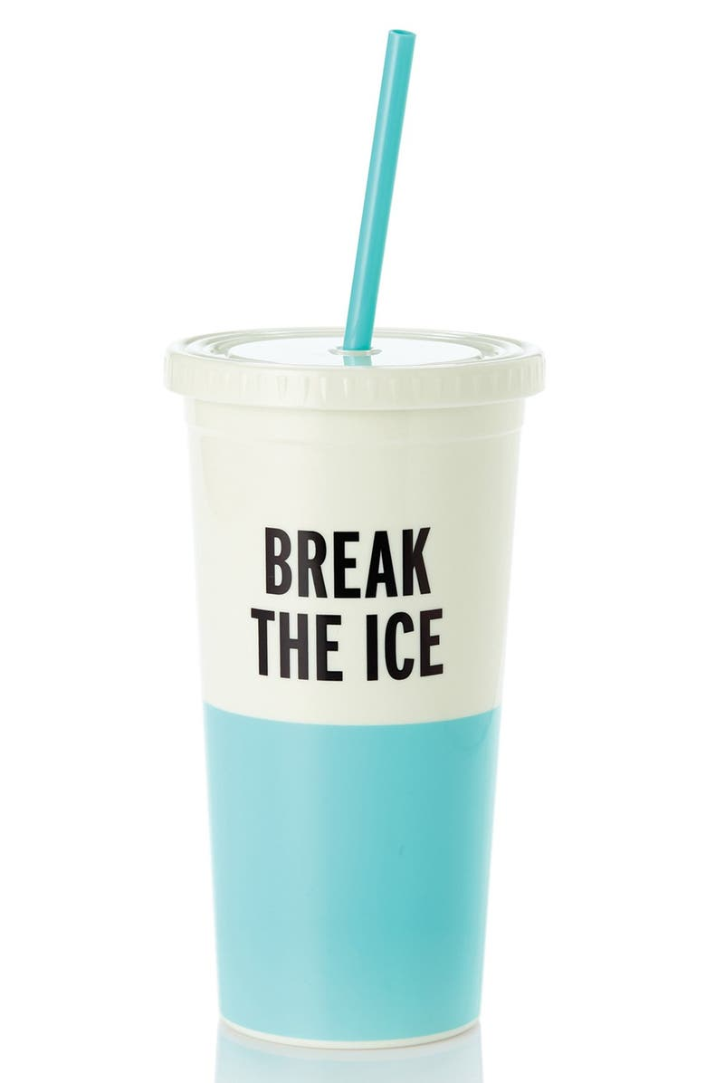 KATE SPADE NEW YORK 'break the ice' insulated tumbler, Main, color, 400