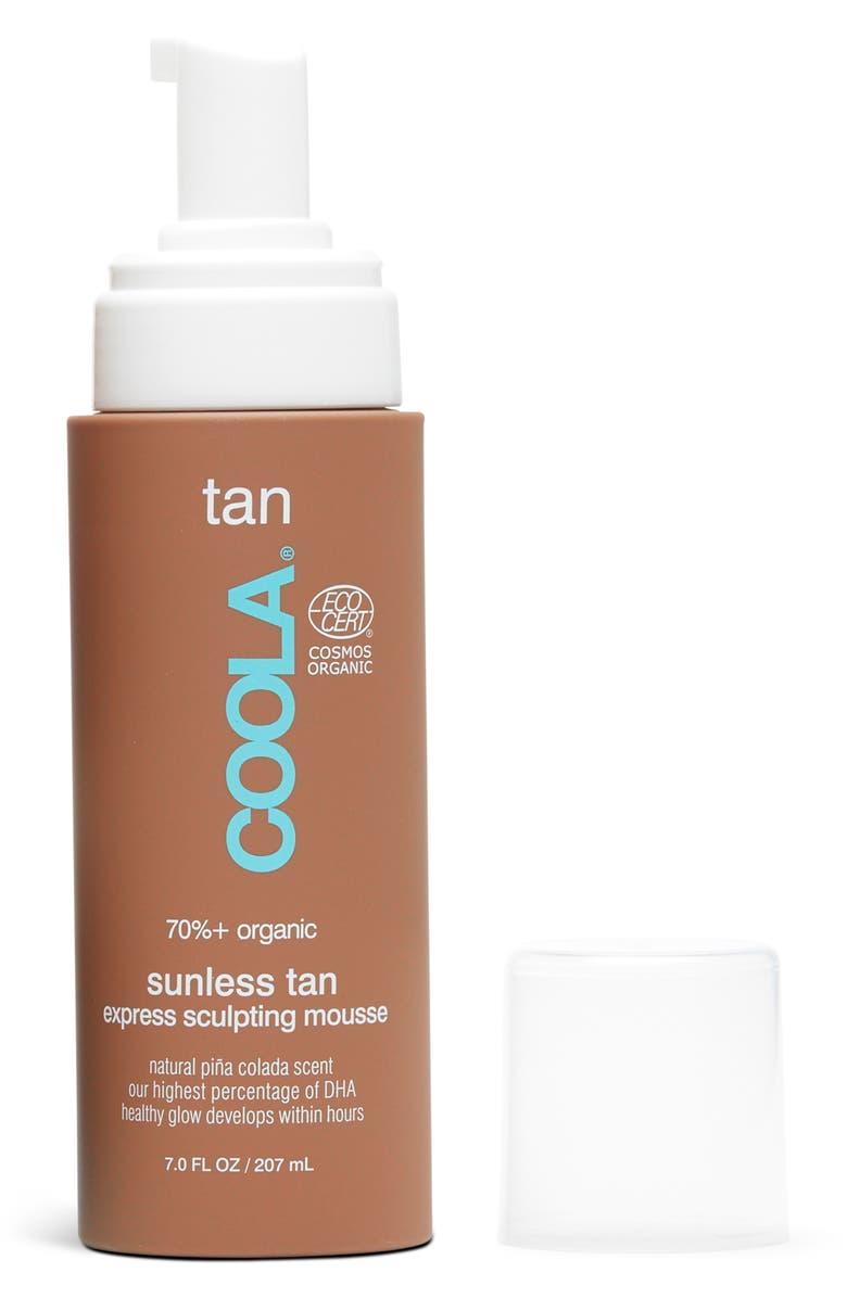 COOLA<SUP>®</SUP> Suncare Sunless Tan Sculpting Mousse, Main, color, NO COLOR