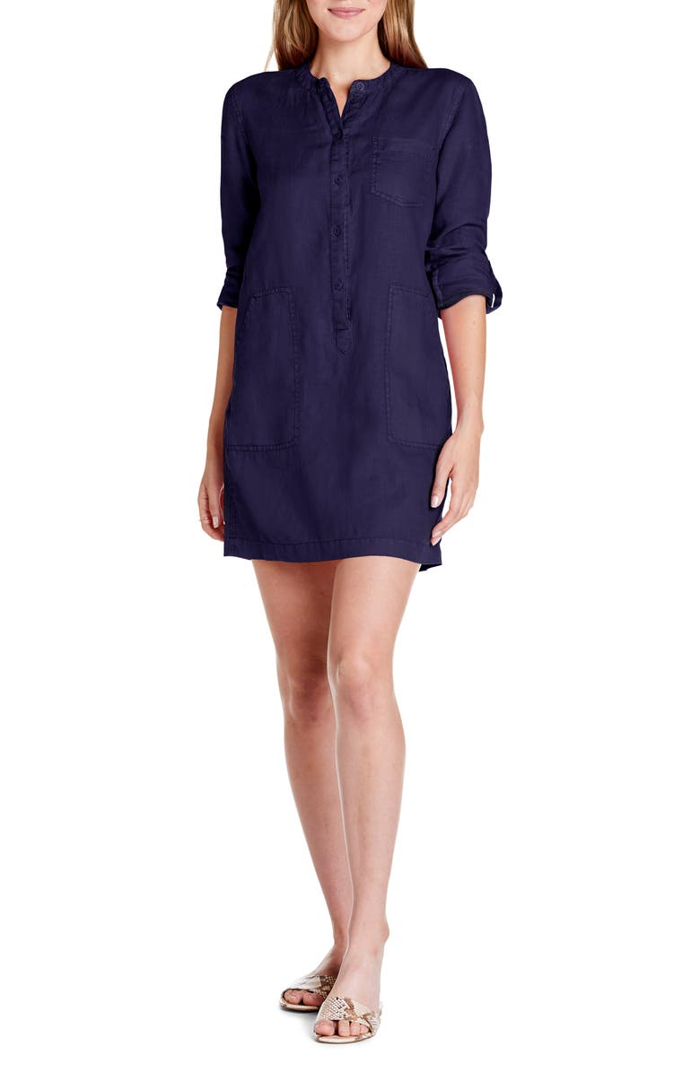 MICHAEL STARS Molly Shirtdress, Main, color, 415