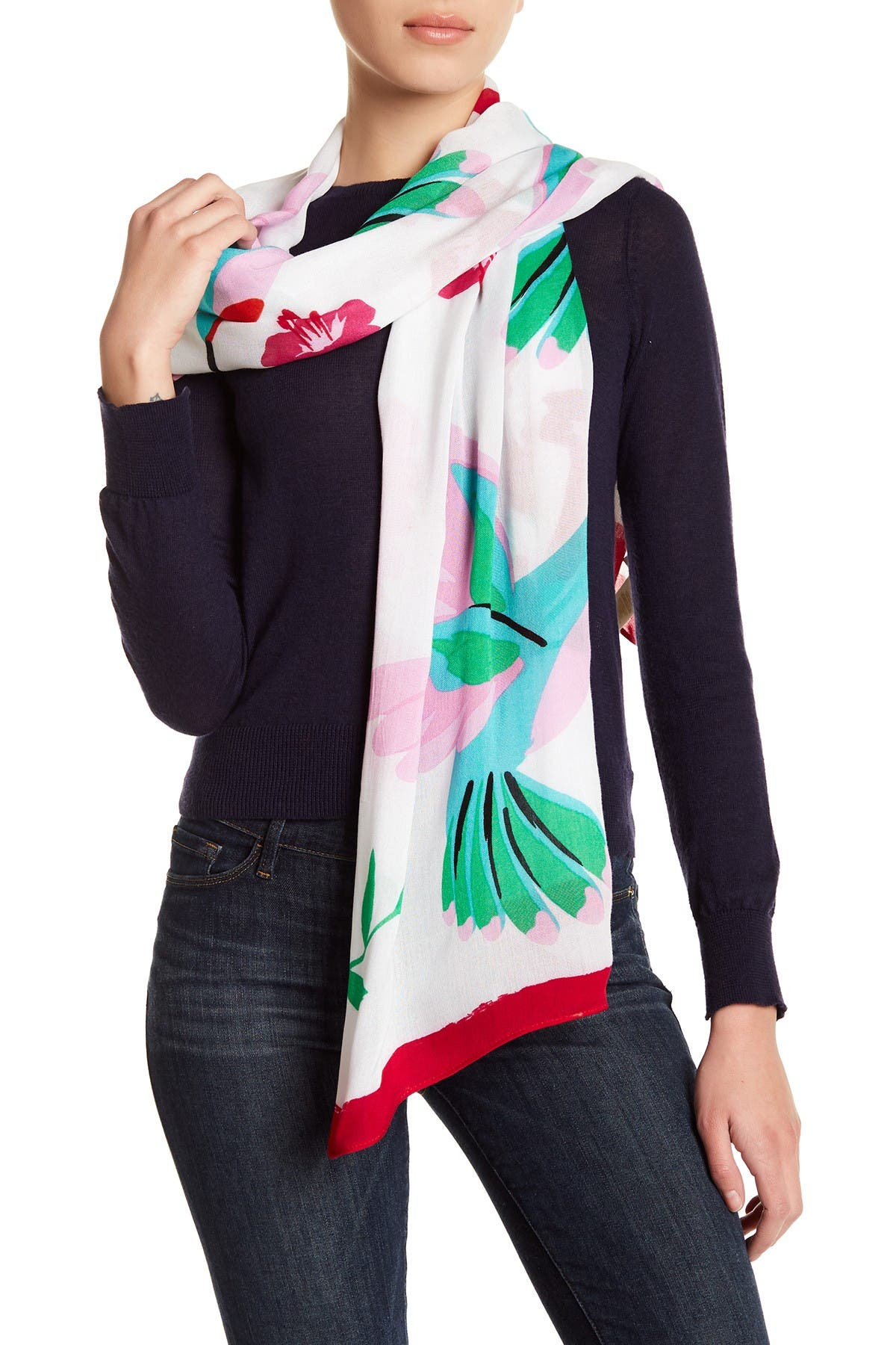 Image of kate spade new york Hummingbird Scarf