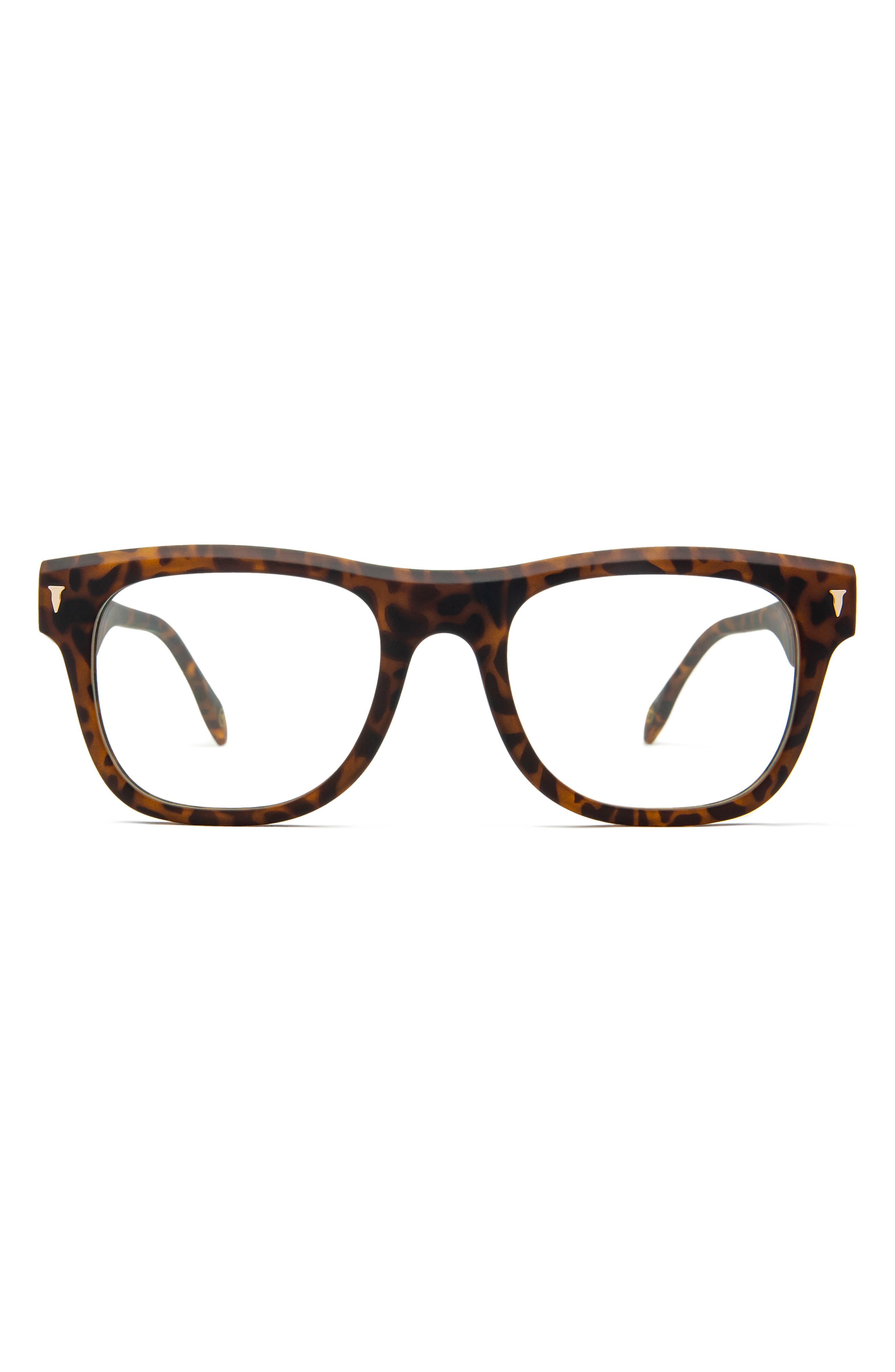 54mm Blue Light Blocking Rectangular Glasses