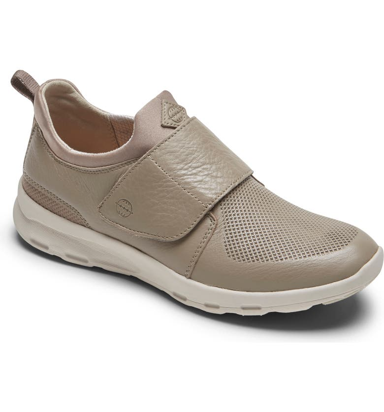 ROCKPORT Let's Walk<sup>®</sup> Mid Sneaker, Main, color, DOVER GREY LEATHER