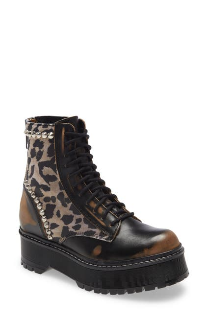 Image of Steve Madden Activated Lace-Up Boot