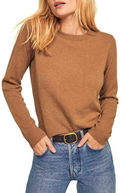 Reformation Sweaters CASHMERE BLEND SWEATER