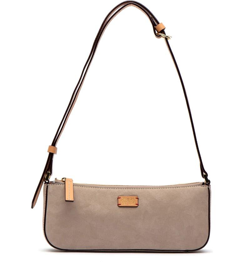 FRANCES VALENTINE Nubuck Baguette Bag, Main, color, 250