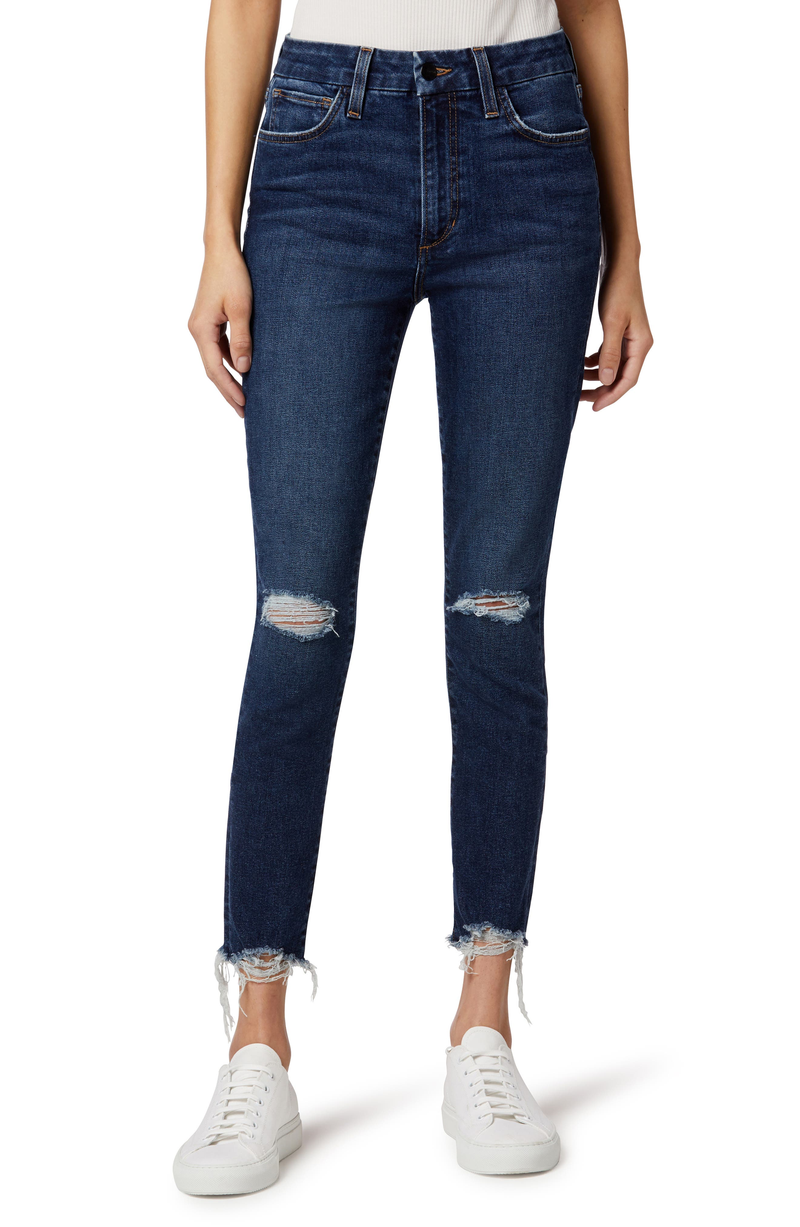 The Hi Honey High Waist Curvy Skinny Crop Jeans