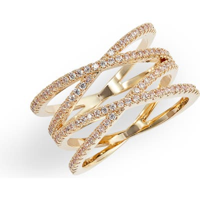 Nordstrom Pave Double Crisscross Band