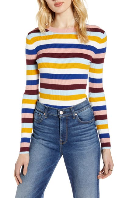 Image of Halogen Ribbed Sweater