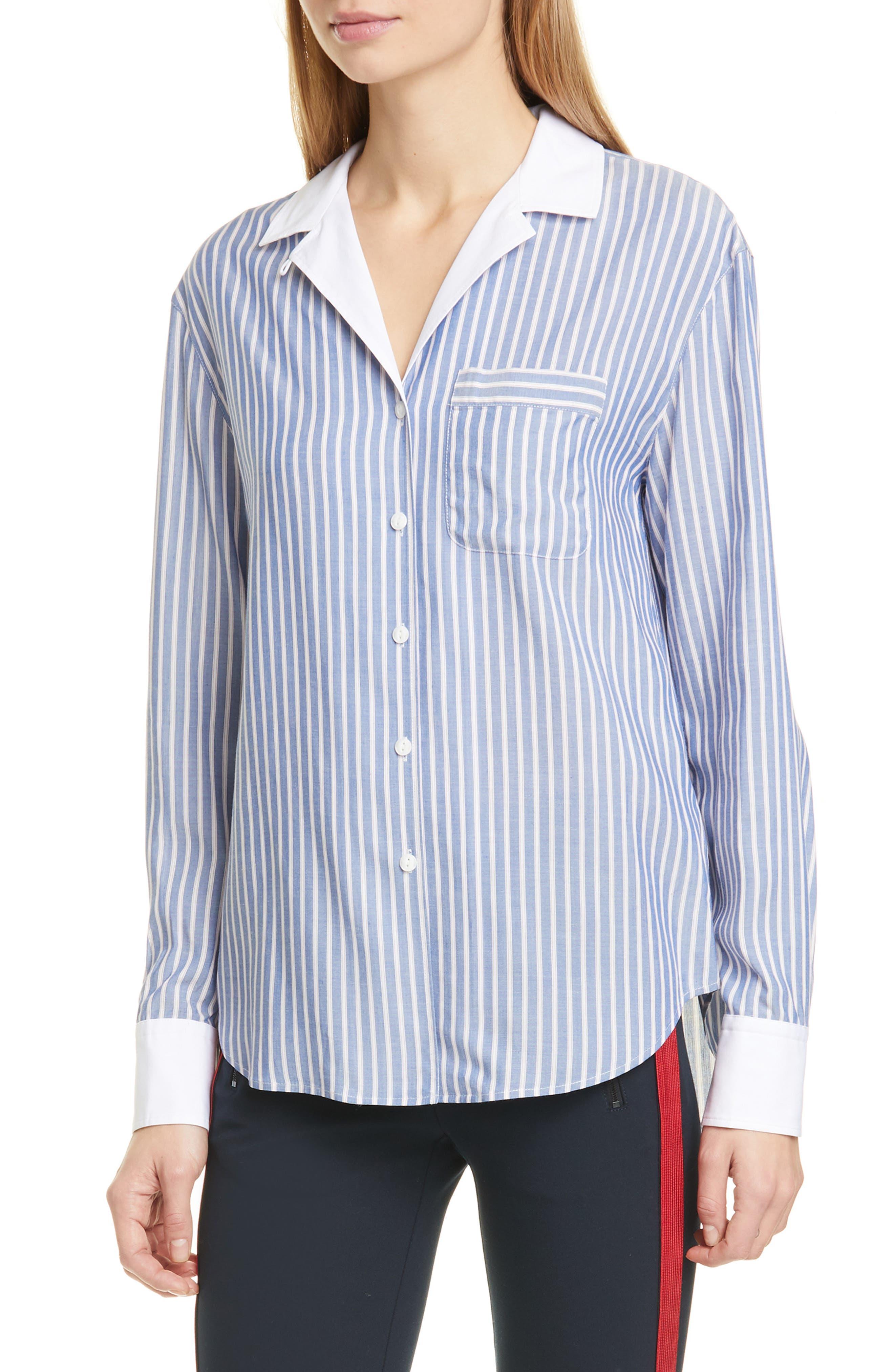 Image of Rag & Bone Amelia Stripe PJ Shirt
