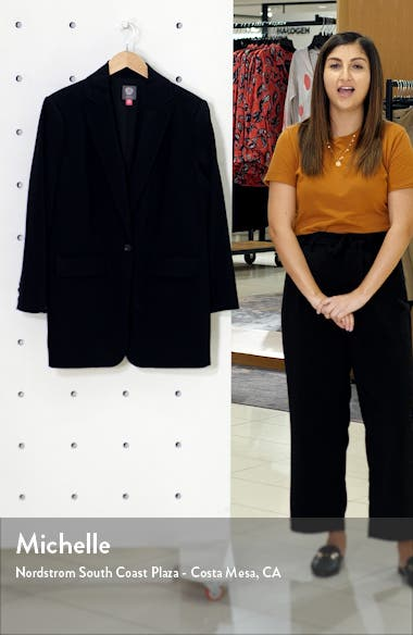 Suiting Notched Collar Blazer, sales video thumbnail