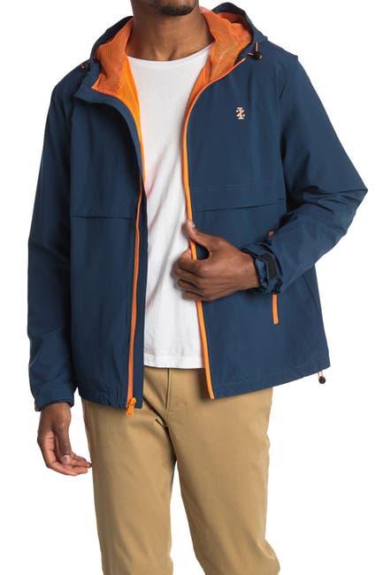 Image of Izod Hooded Ripstop Jacket