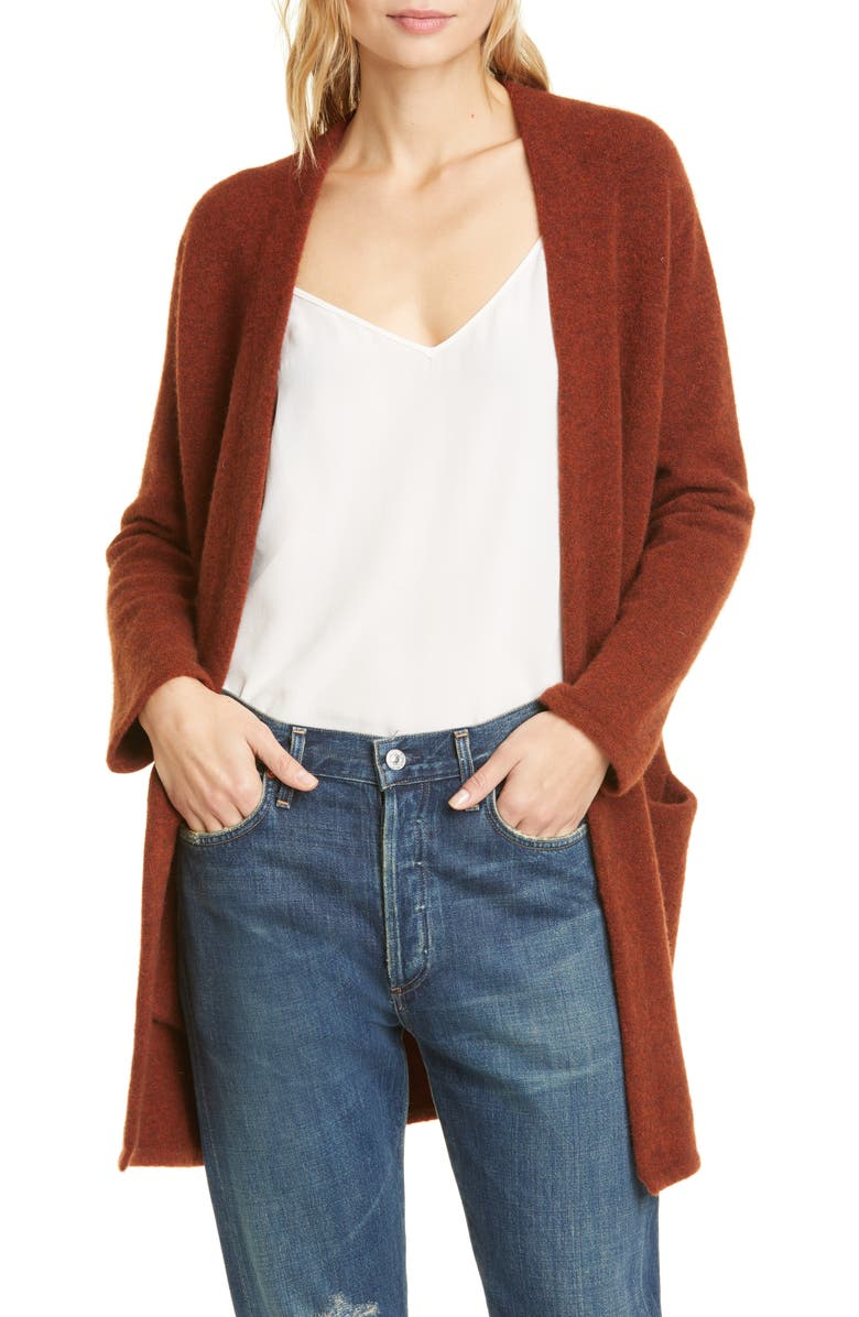 JENNI KAYNE Wool Blend Sweater Coat, Main, color, 800