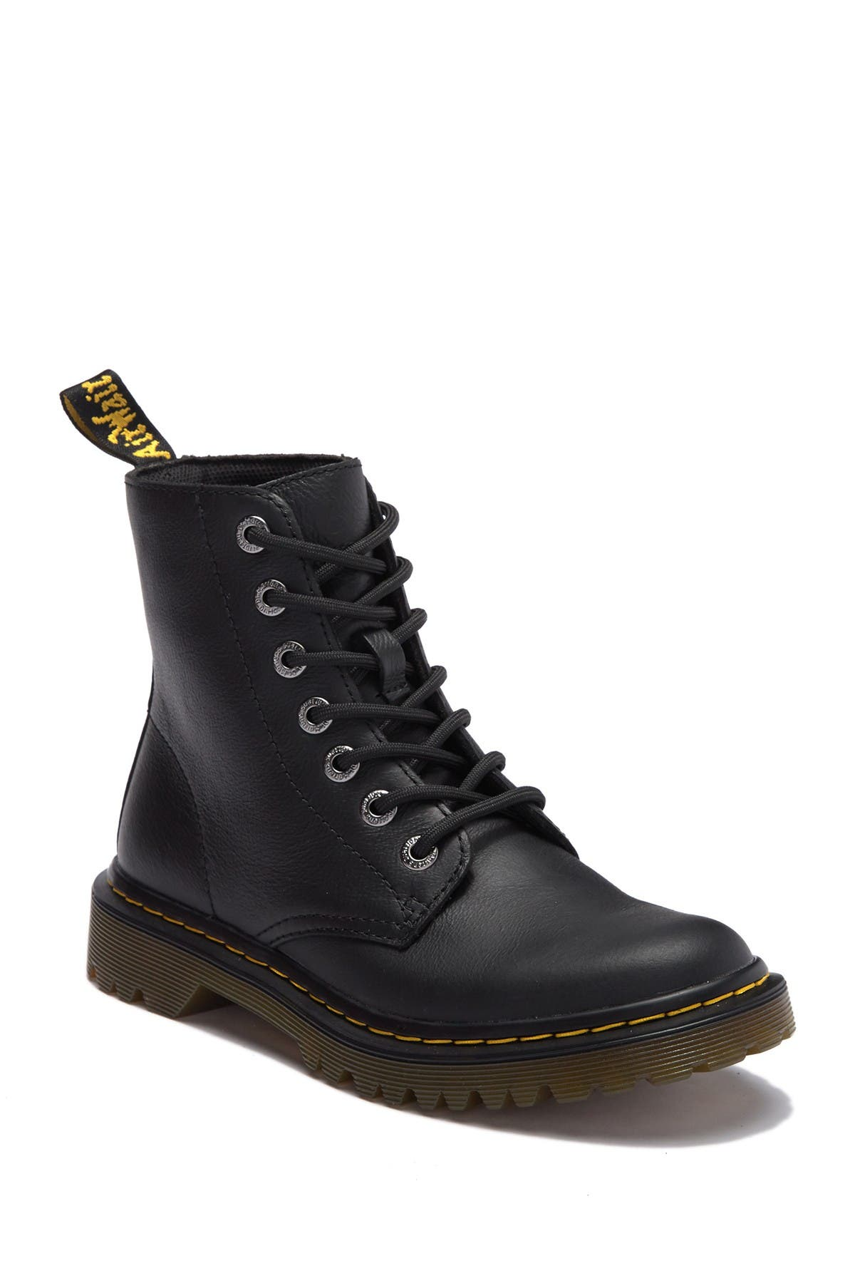 Image of Dr. Martens Luana Leather Combat Boot