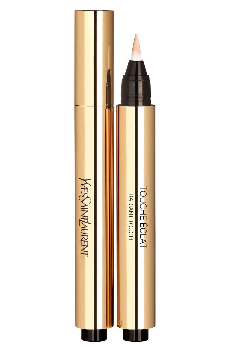 YVES SAINT LAURENT Touche Éclat All-Over Brightening Concealer Pen, Main, color, 2.5 LUMINOUS VANILLA