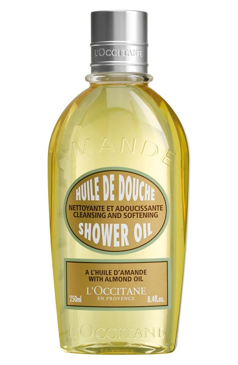 L'OCCITANE Almond Shower Oil, Main, color, NO COLOR