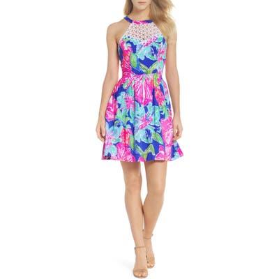 Lilly Pulitzer Kinley Halter Dress, Purple