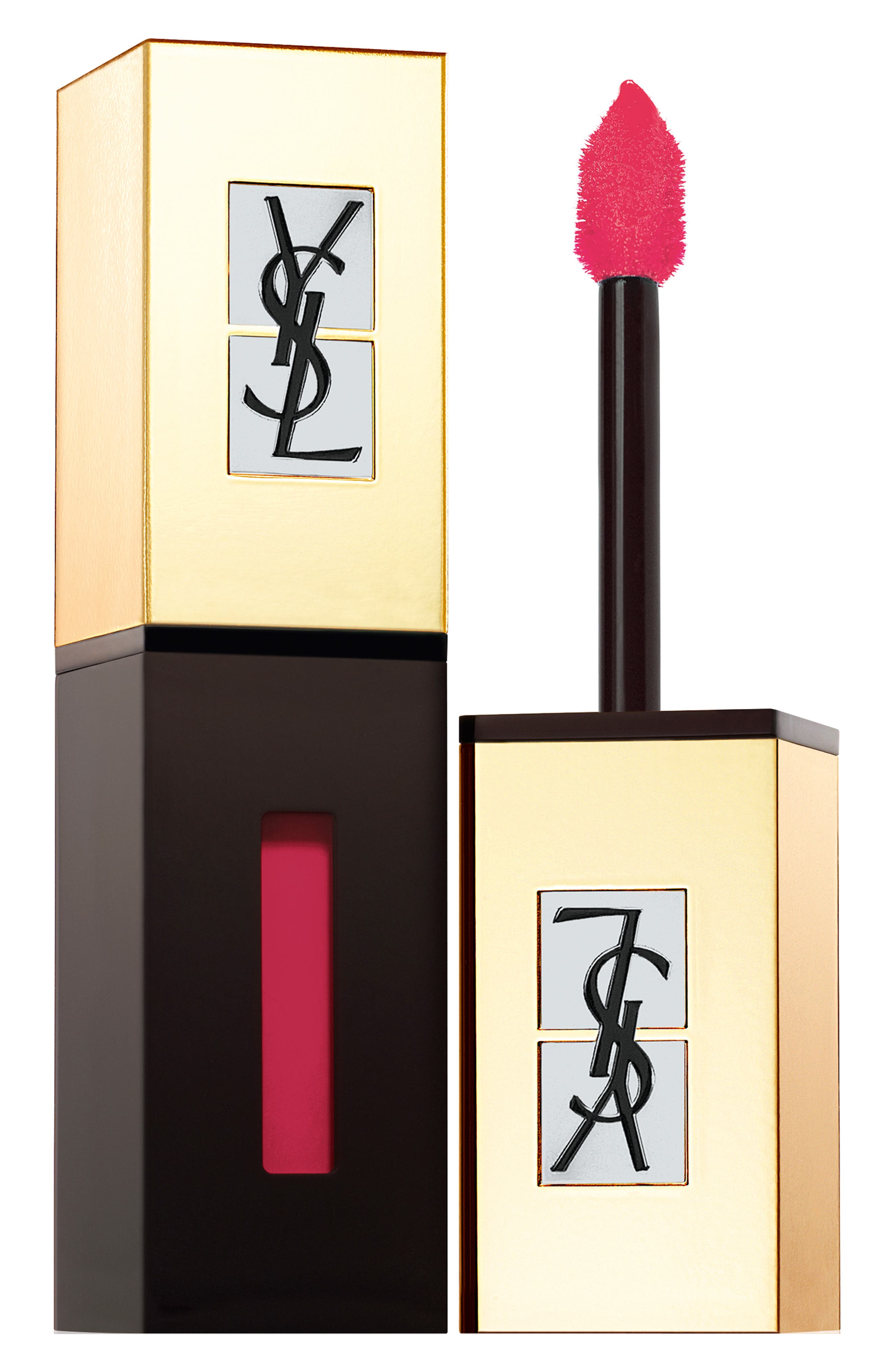 Yves Saint Laurent Pop Water - Vernis A Levres Glossy Stain - 204 Onde Rose