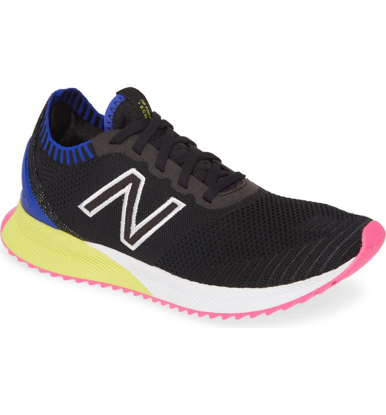 NEW BALANCE FuelCell Echo Running Shoe, Main, color, BLACK