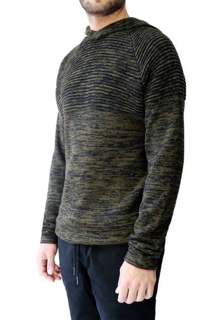 Image of HEDGE Twist Yarn Knit Hoodie