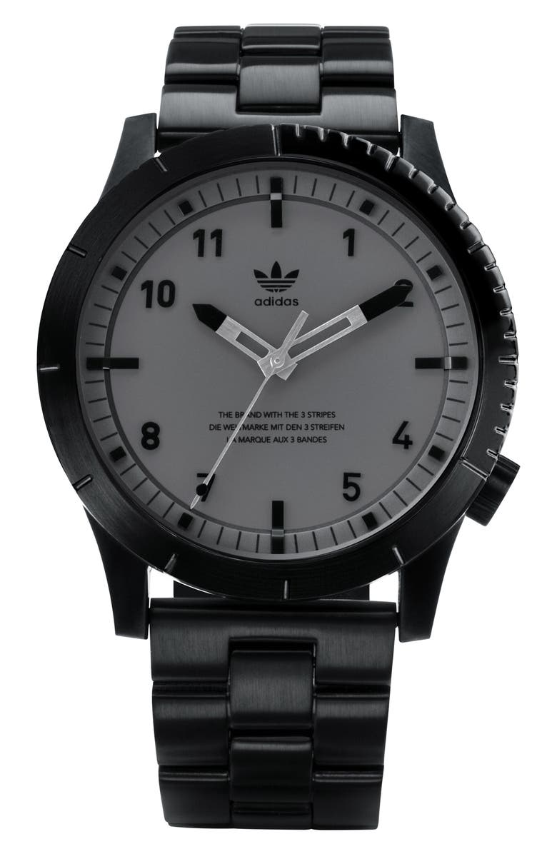 ADIDAS Cypher Bracelet Watch, 42mm, Main, color, 003