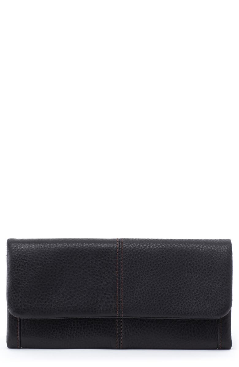 HOBO Wonder Leather Wallet, Main, color, 001