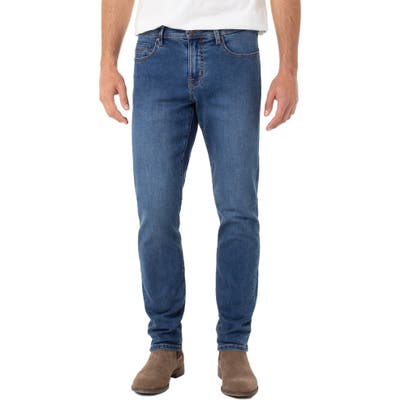Liverpool Kingston Modern Straight Leg Jeans, Blue