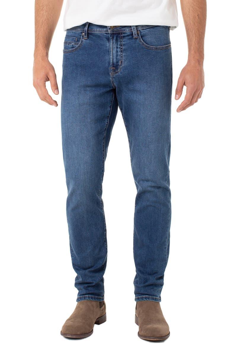 LIVERPOOL Kingston Slim Straight Leg Jeans, Main, color, TRITON