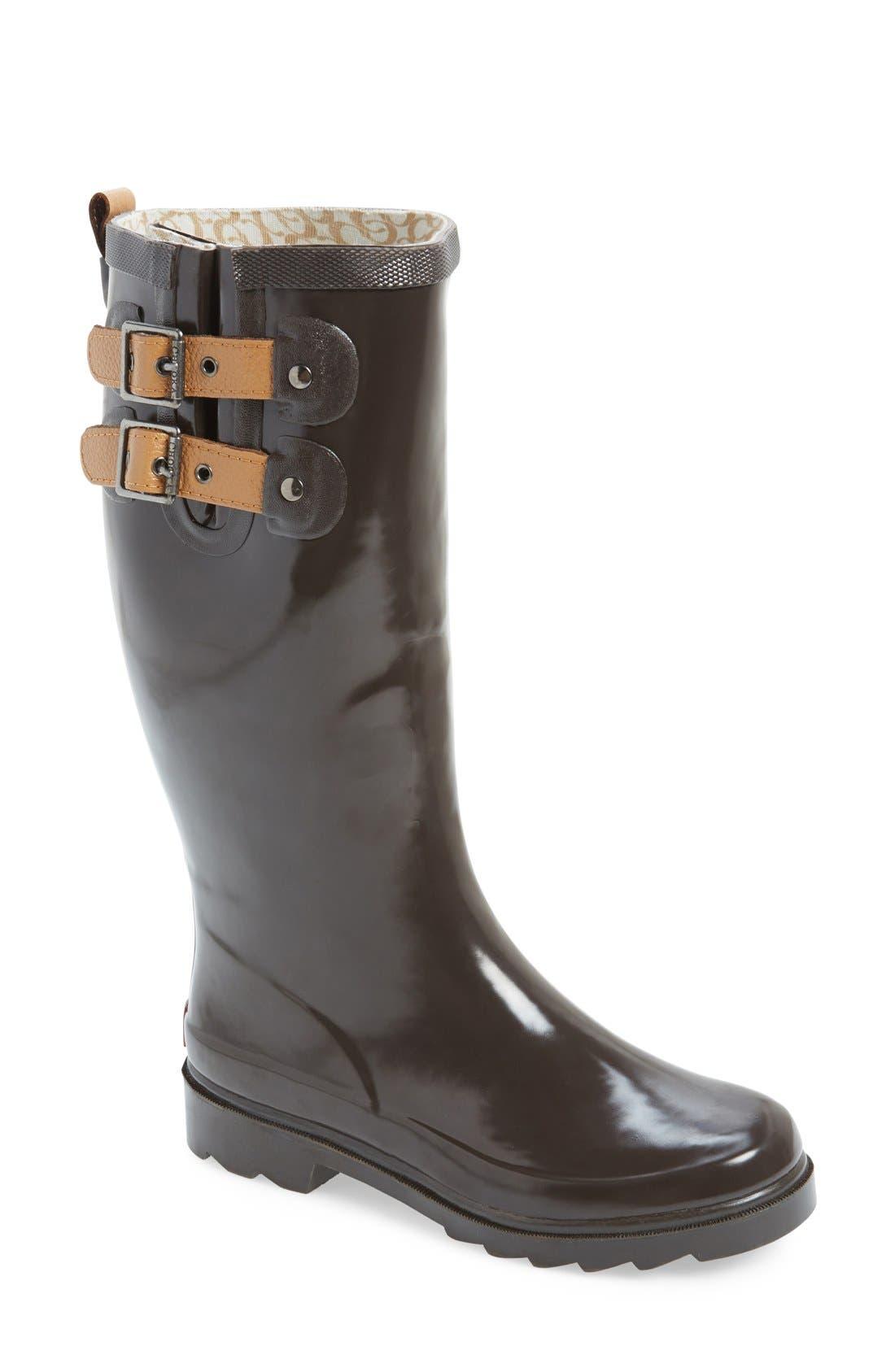 ,                             'Top Solid' Rain Boot,                             Main thumbnail 17, color,                             200
