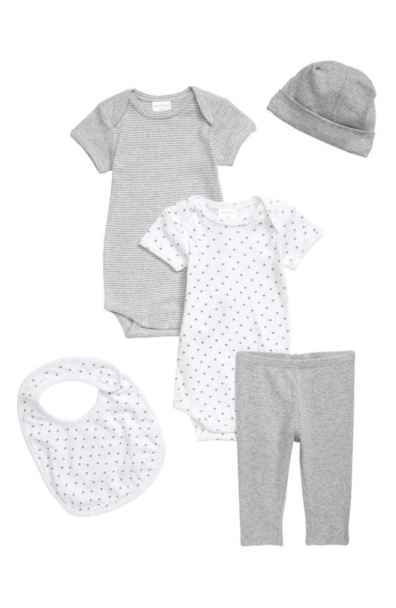 NORDSTROM BABY Play Time 5-Piece Set, Main, color, GREY ASH HEATHER