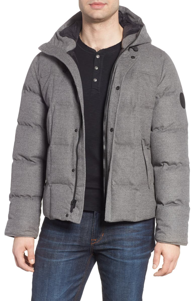 UGG<SUP>®</SUP> Cadin Technical Water Resistant Down Parka, Main, color, 032