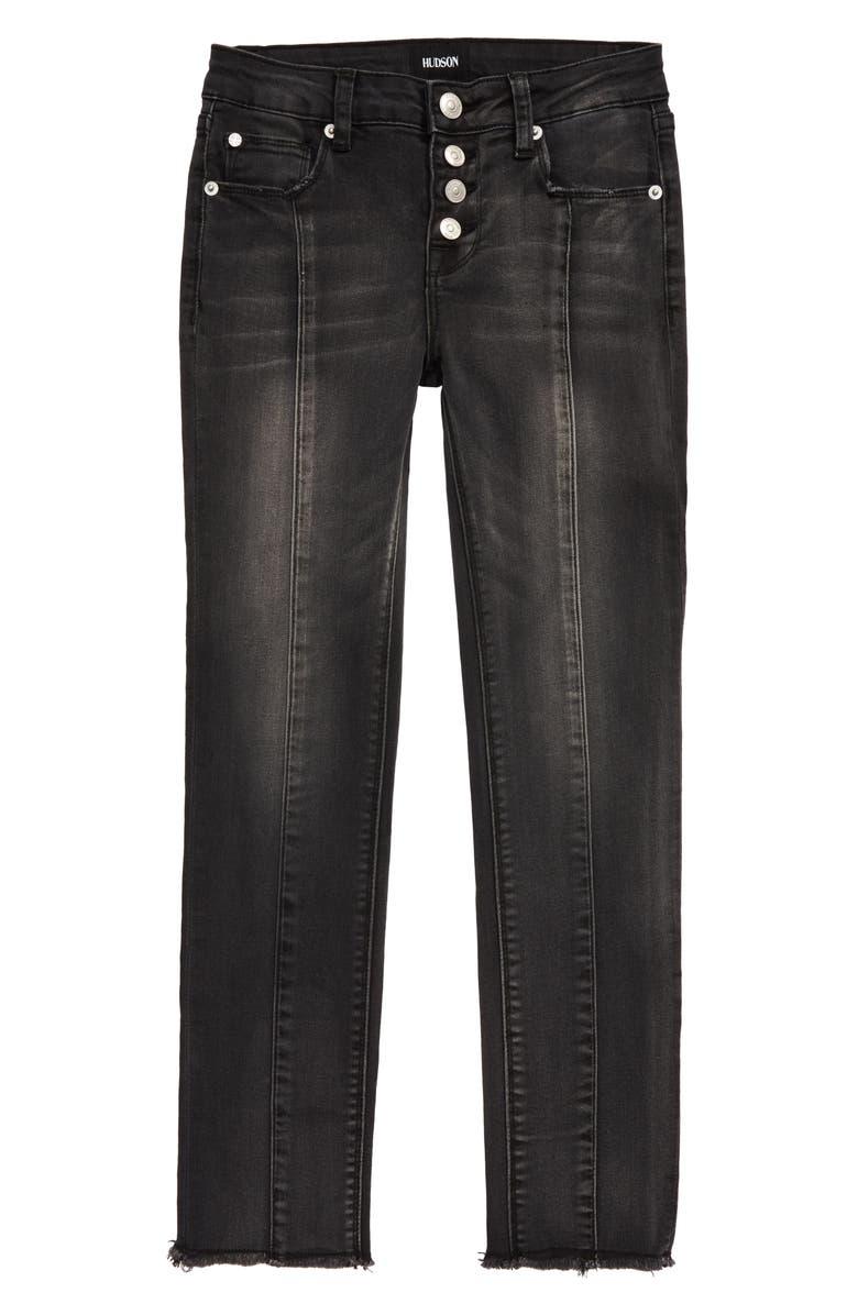 HUDSON JEANS Haim Crop Skinny Jeans, Main, color, BCK-BLACK SAND