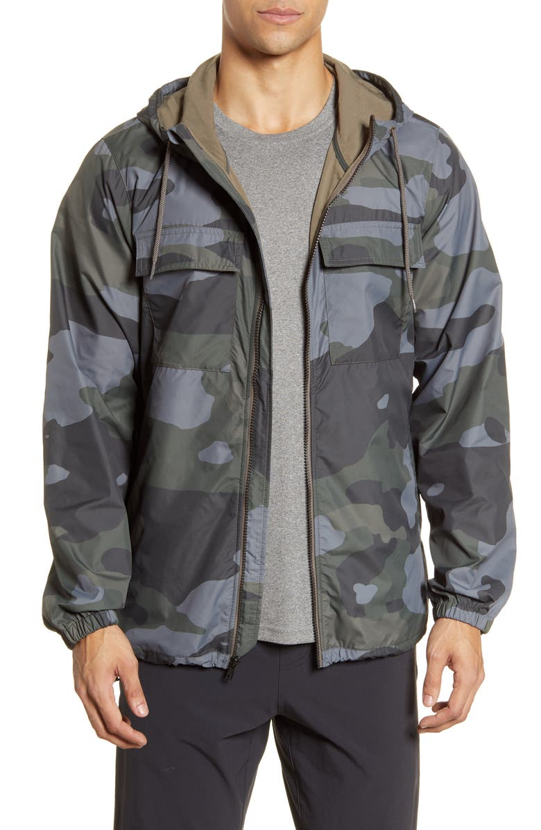 ALO Stride Camo Hooded Jacket, Main, color, 006