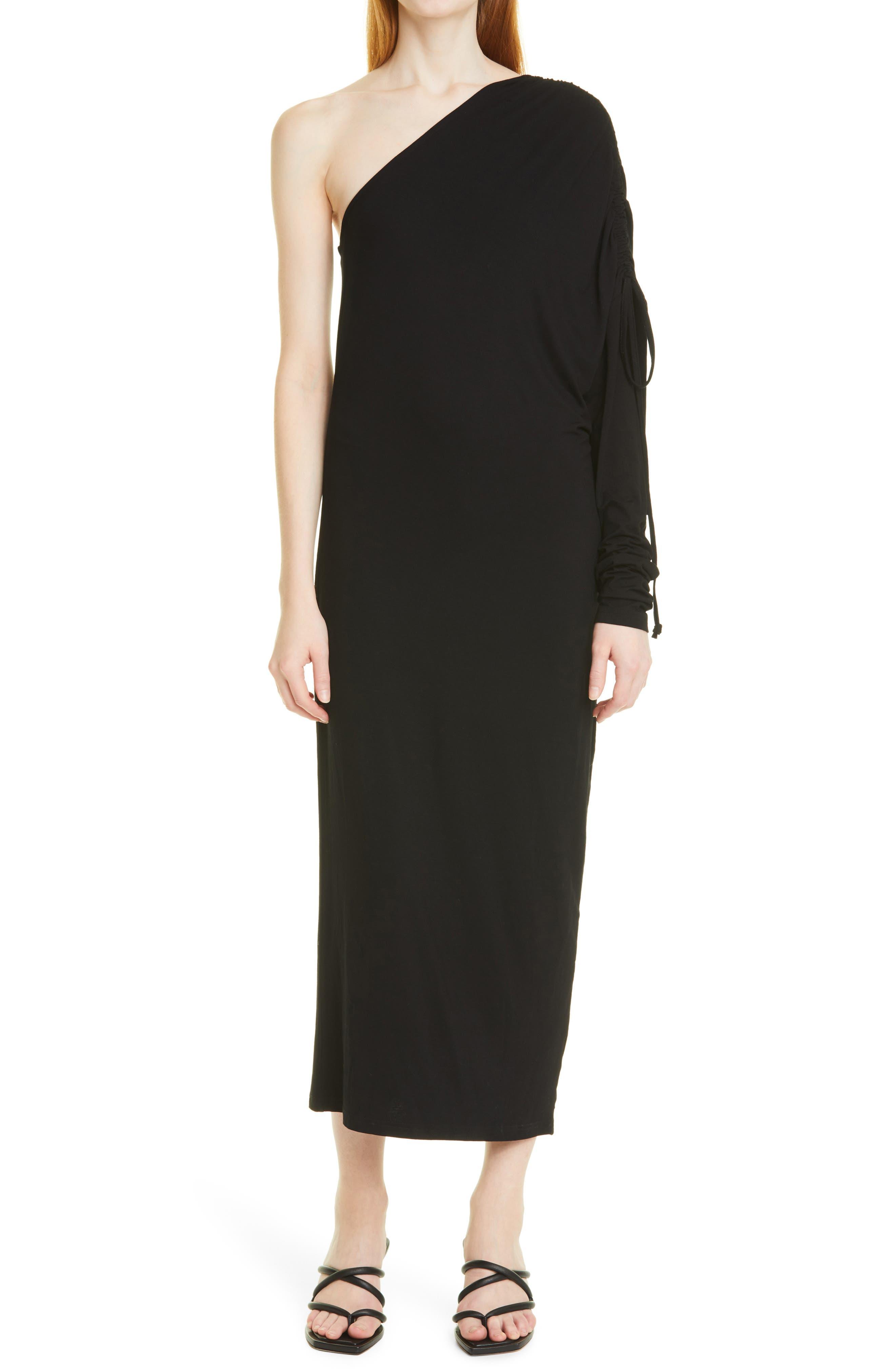 Bjorg One-Shouder Dress