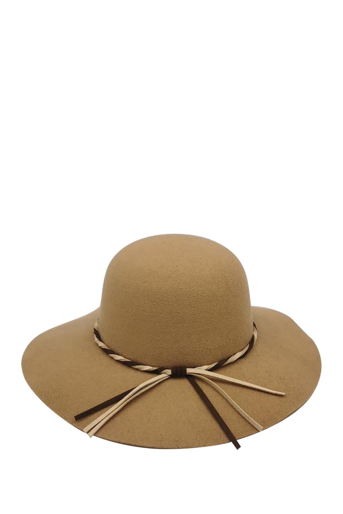 Image of Peter Grimm Headwear Evelyn Felt Floppy Hat