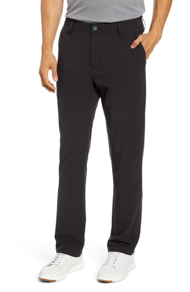 LINKSOUL Boardwalker Chino Pants, Main, color, TRUE BLACK