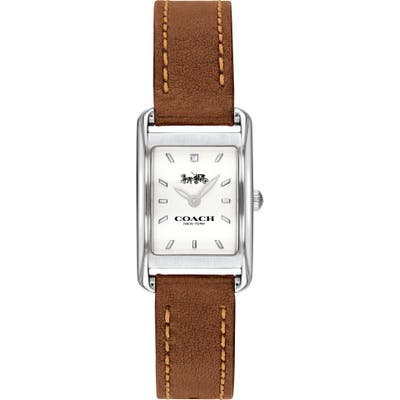 Coach Allie Leather Strap Watch, 22Mm
