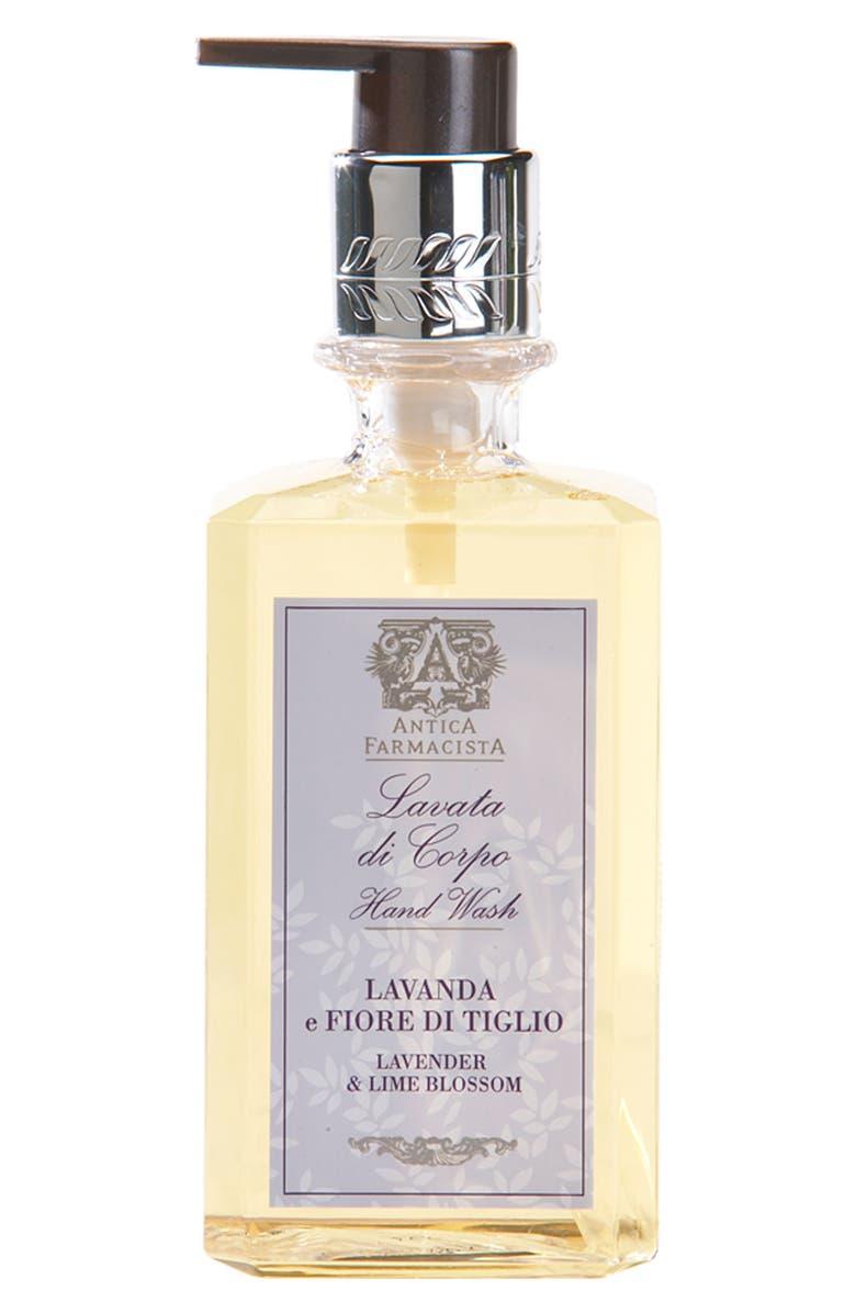 ANTICA FARMACISTA 'Lavender & Lime Blossom' Hand Wash, Main, color, NO COLOR