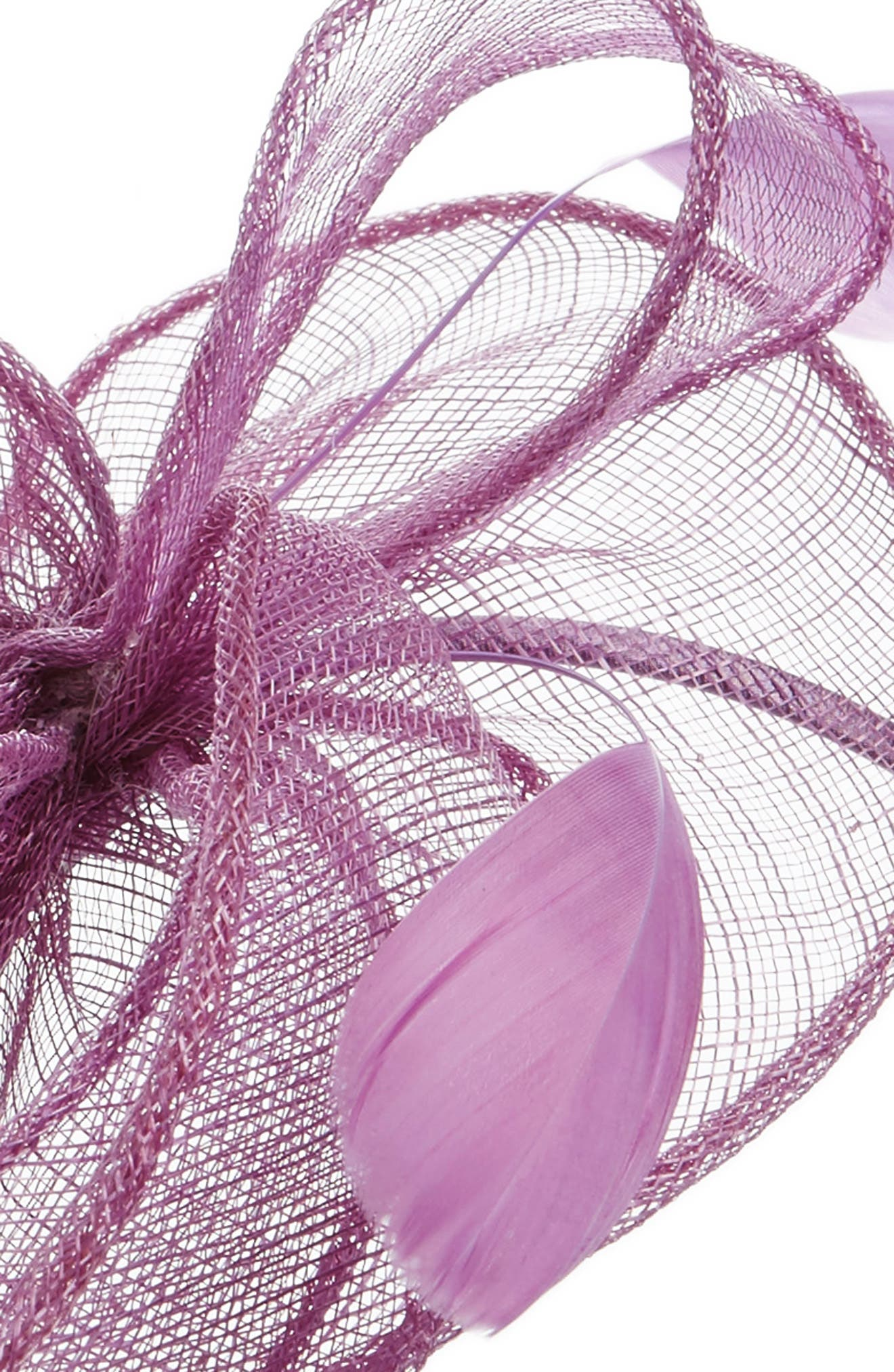 ,                             Bow Fascinator Headband,                             Alternate thumbnail 2, color,                             530