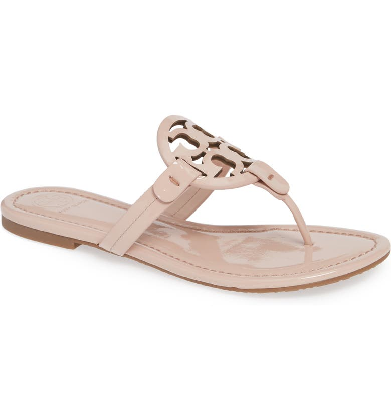TORY BURCH Miller Flip Flop, Main, color, SEA SHELL PINK
