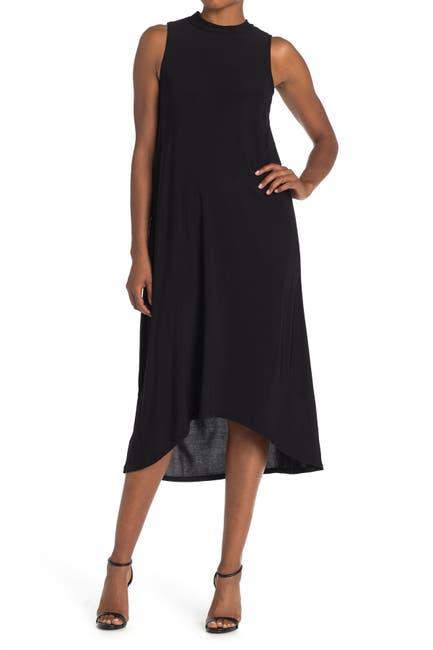 Image of TASH + SOPHIE Mock Neck Midi Dress