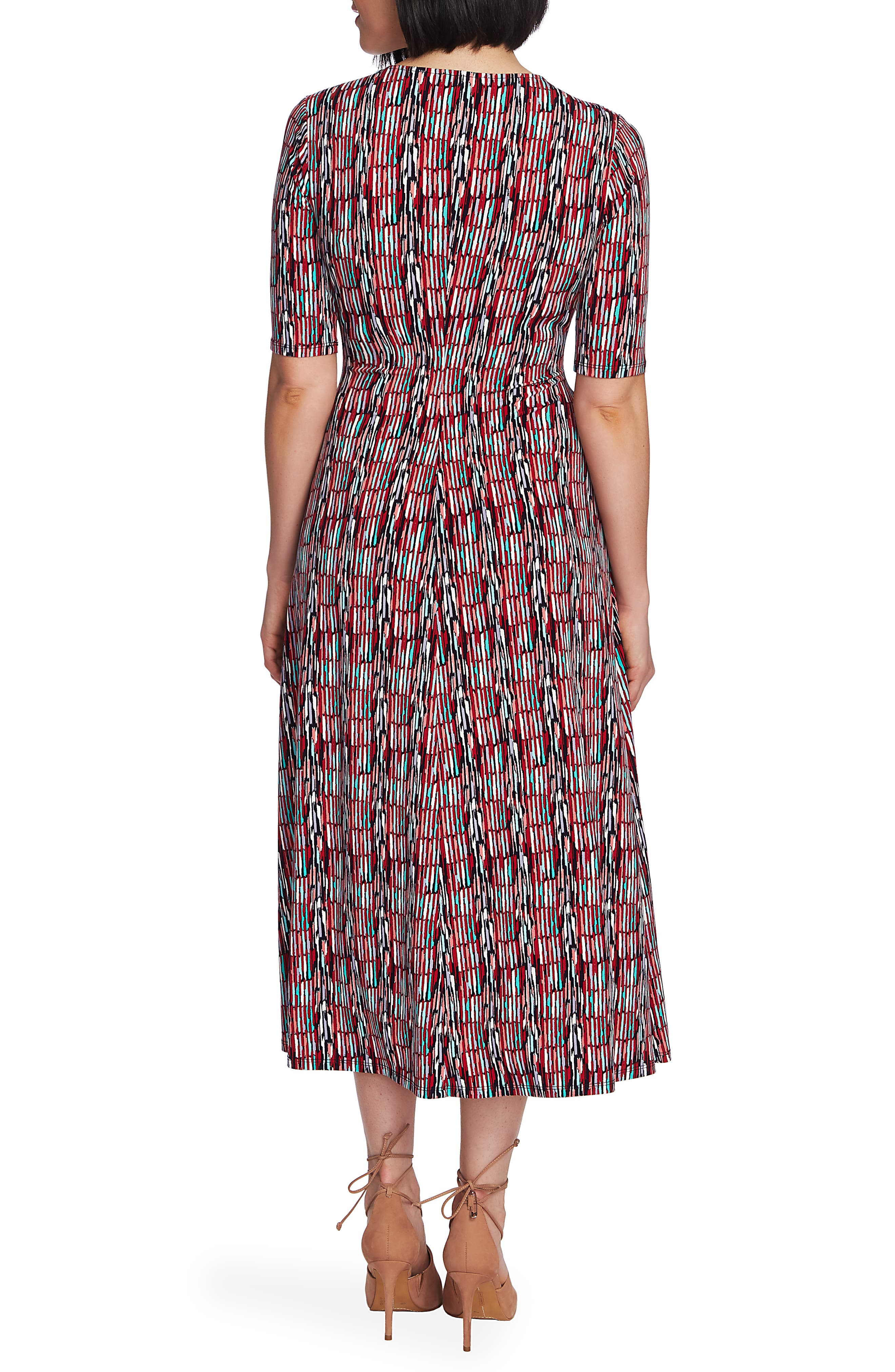 ,                             Sahara Sunrise Faux Wrap Dress,                             Alternate thumbnail 2, color,                             EVENING NAVY