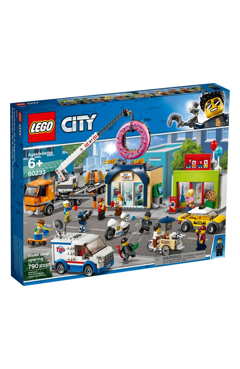 LEGO<SUP>®</SUP> City Donut Shop Opening - 60233, Main, color, MULTI