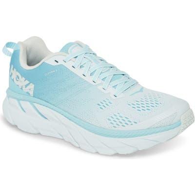 Hoka One One Clifton 6 Running Shoe- Blue